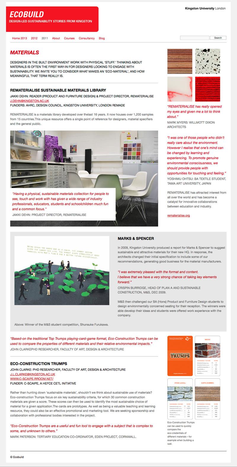 ecobuild website