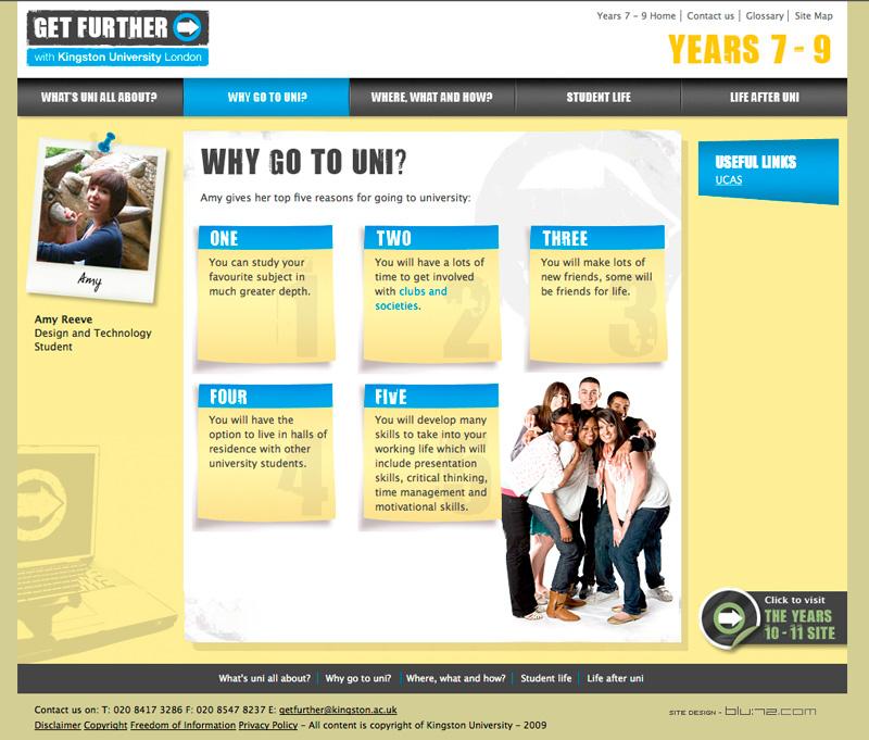 Get Further website