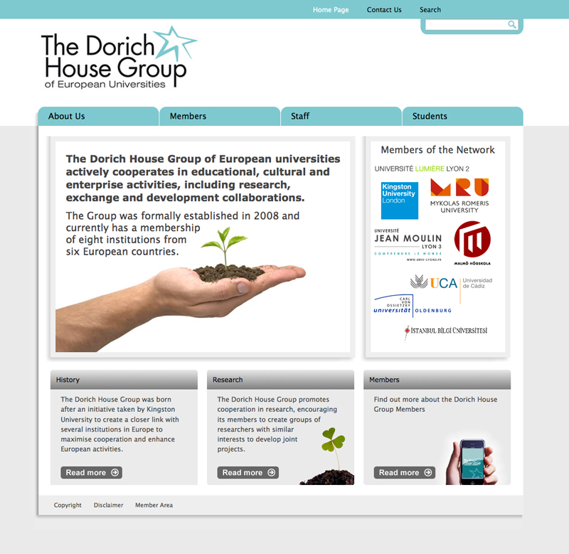 Dorich House Group Website