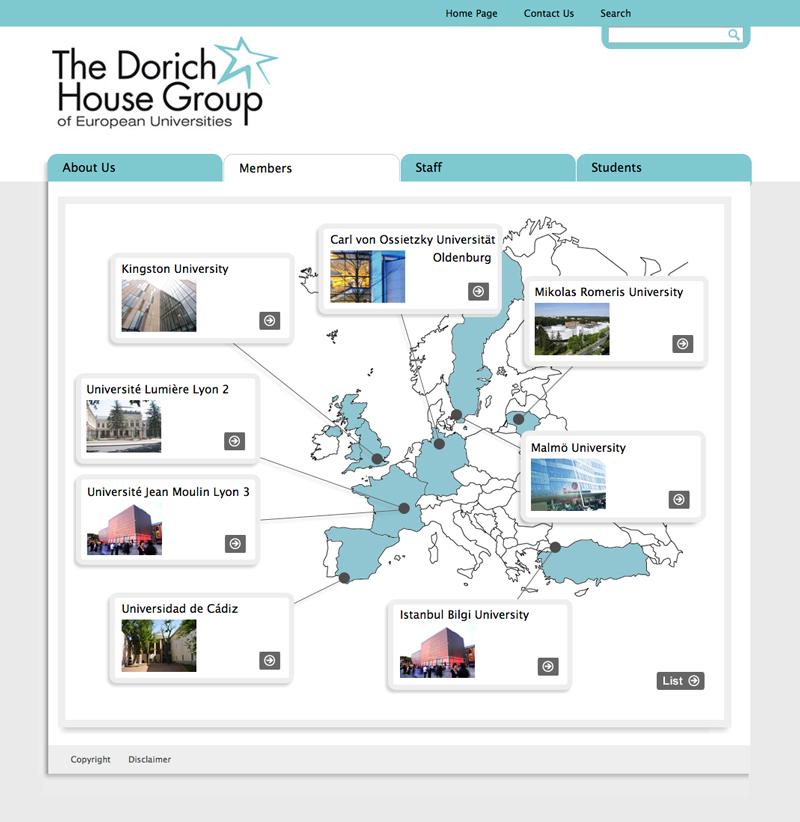 Dorich House Group Website