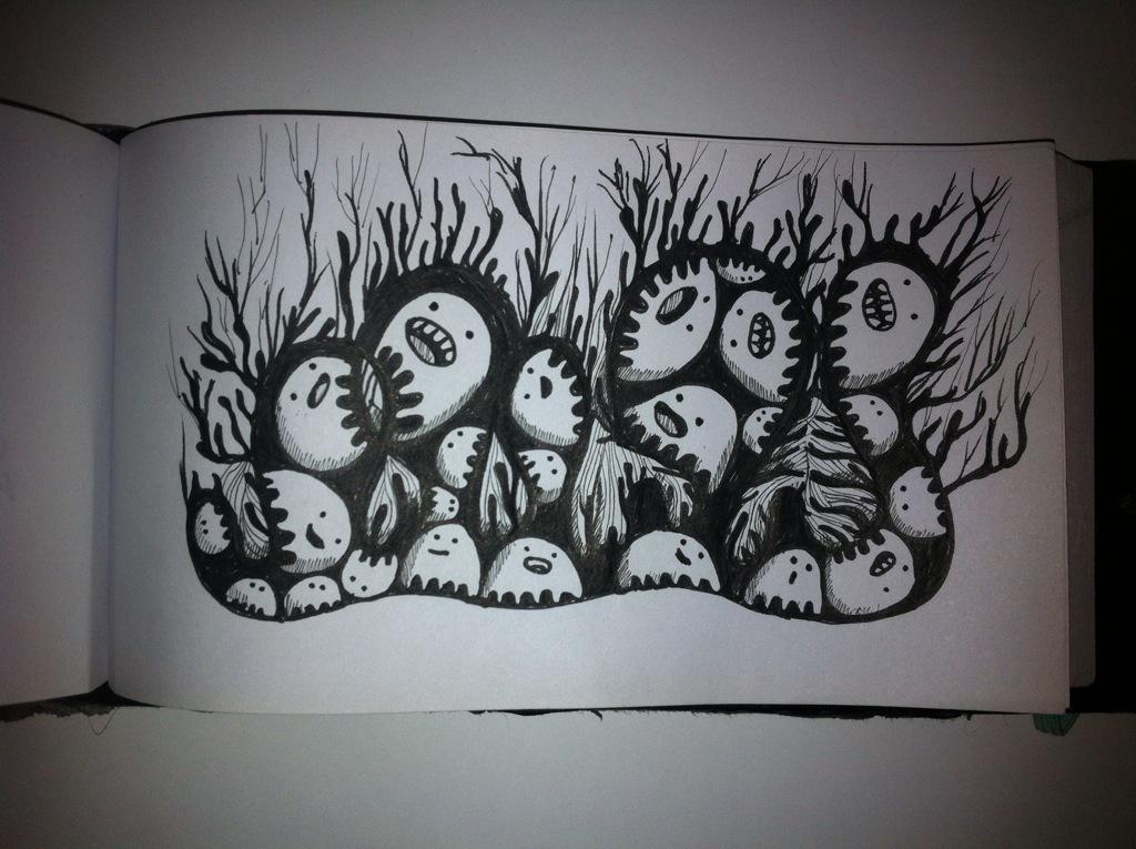 Creatures under ground