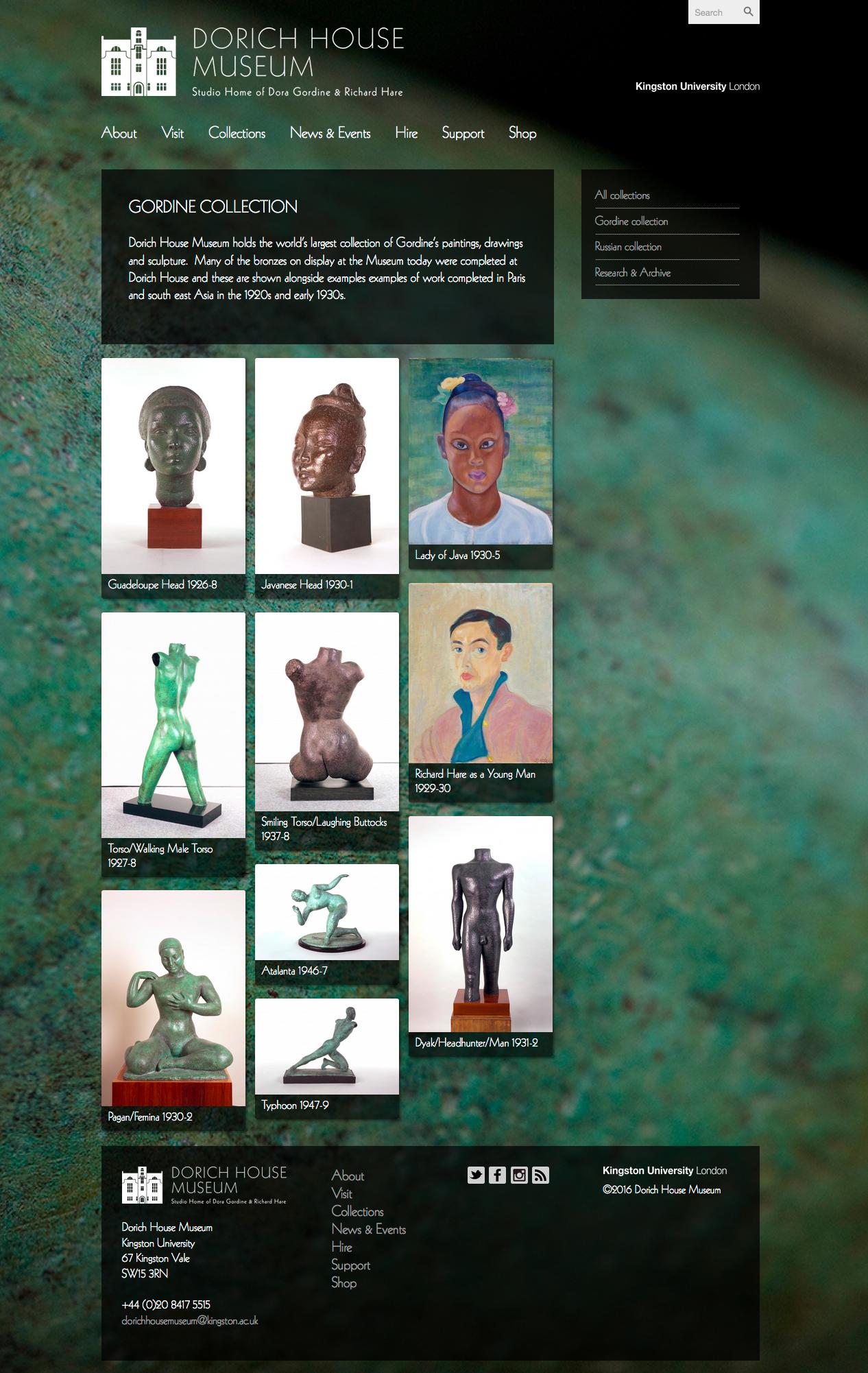 dorichhousemuseum collection page