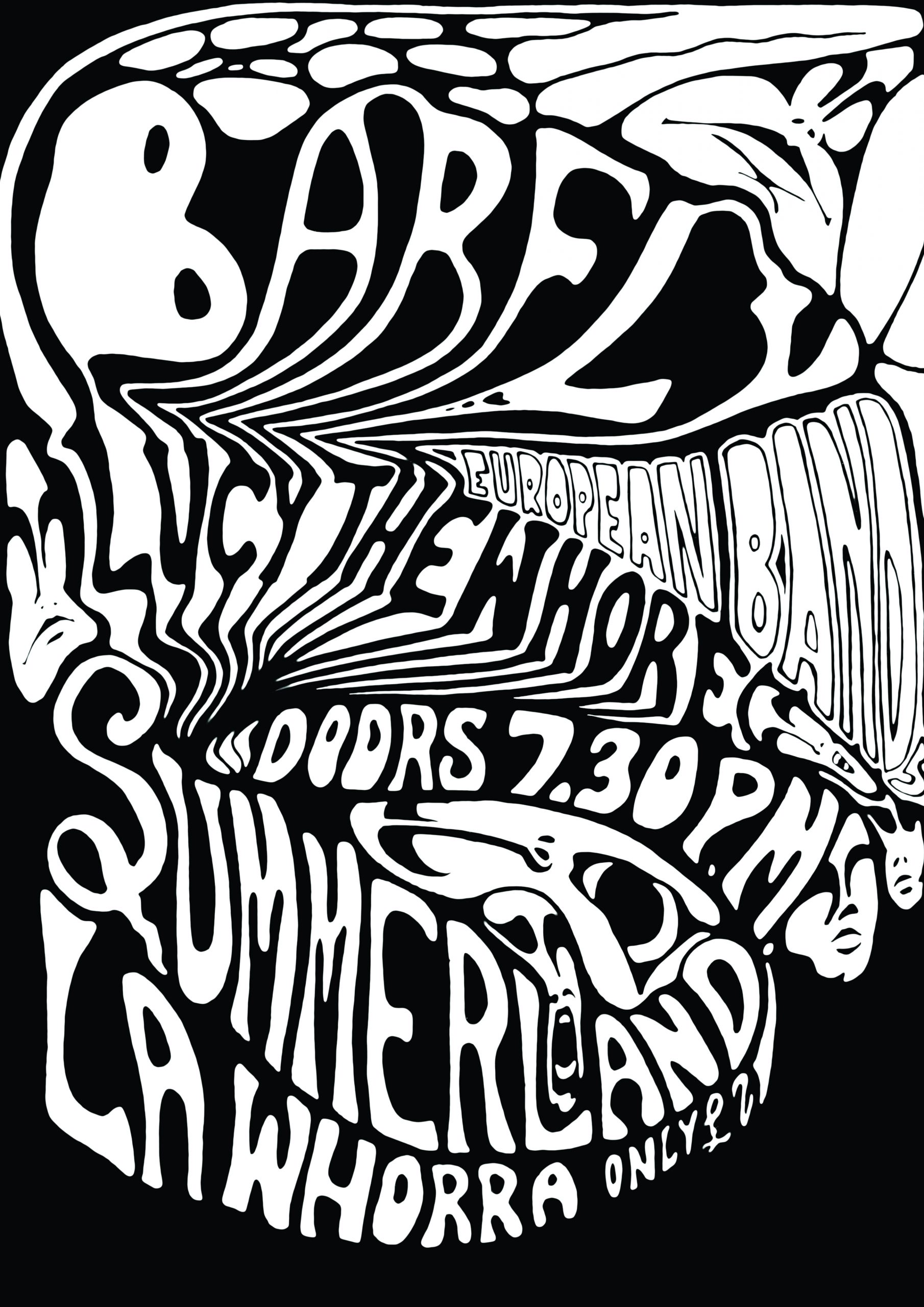 Barfly gig poster