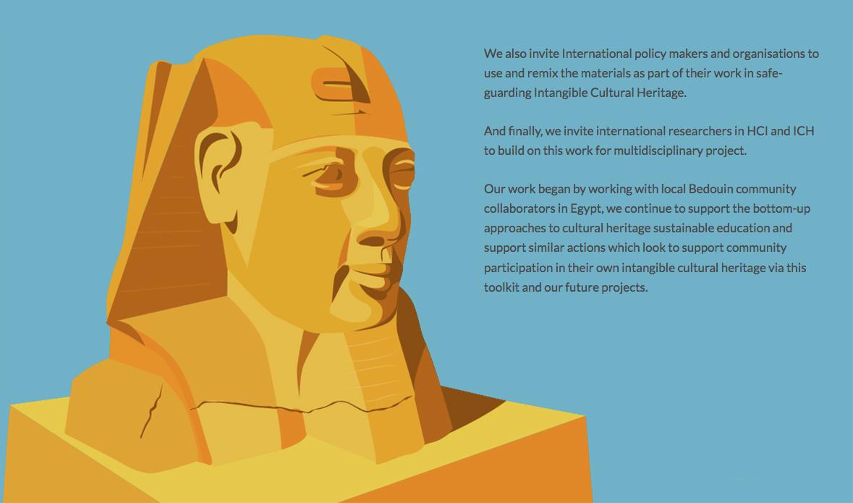 Illustration of Sphinx head