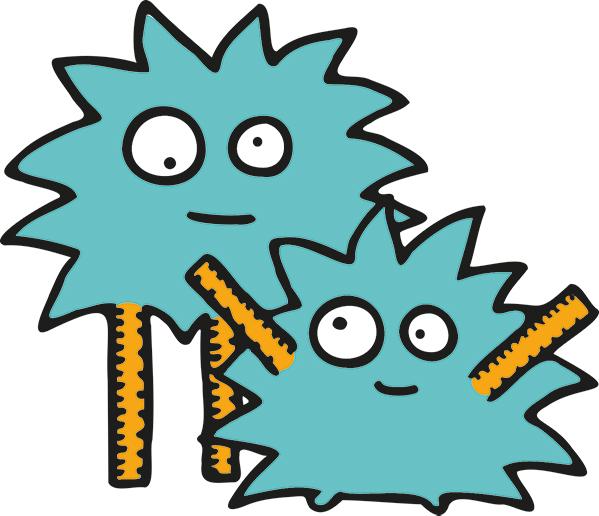 Ruler maths monsters
